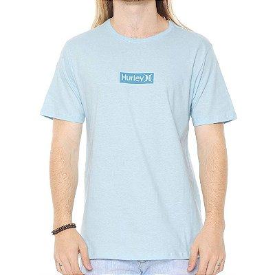 Camiseta Hurley Silk O&O Small Azul Claro