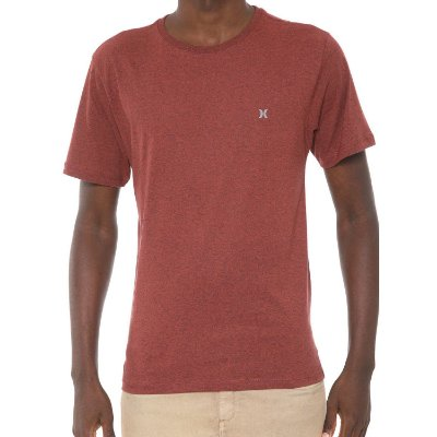 Camiseta Hurley Silk Icon Vermelha