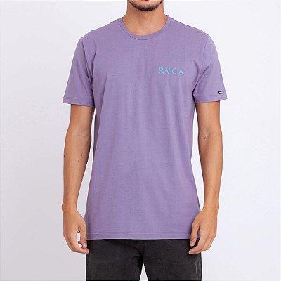 Camiseta RVCA Trsted Roxa