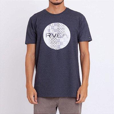 Camiseta RVCA Motors Mix Cinza Escuro