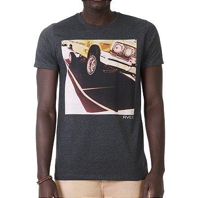 Camiseta RVCA Hydraulic Cinza Escuro