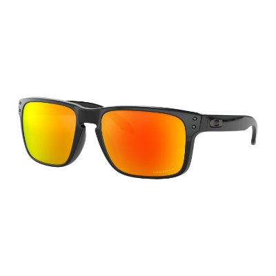 Óculos de Sol Oakley Holbrook Polished Black W/ Prizm Ruby Polarized