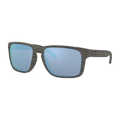 Óculos de Sol Oakley Holbrook XL Woodgrain W/ Prizm Deep Water Polarized