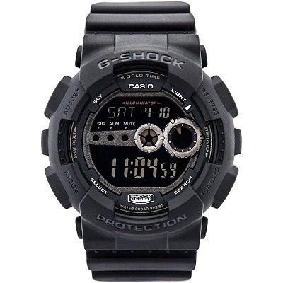 Relógio G-Shock GD-100-1BDR Preto