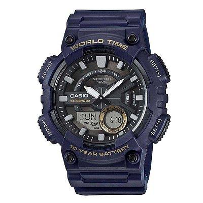 Relógio Casio Standard AEQ-110W-2AVDF