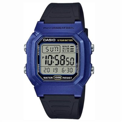 Relógio Casio Standard W-800HM-2AVDF Azul