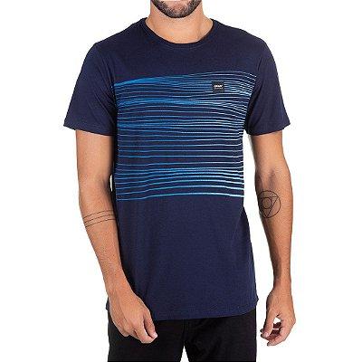Camiseta Oakley Especial Sunset Iridium SP Azul Marinho
