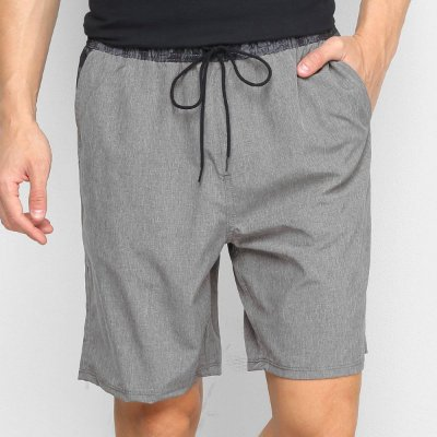 Shorts Hurley Volley Electric Cinza Escuro