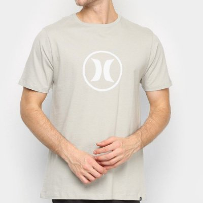 Camiseta Hurley Silk Circle Icon Verde Claro