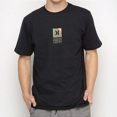 Camiseta Hurley Silk Vibex Preta