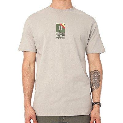 Camiseta Hurley Silk Vibex Verde