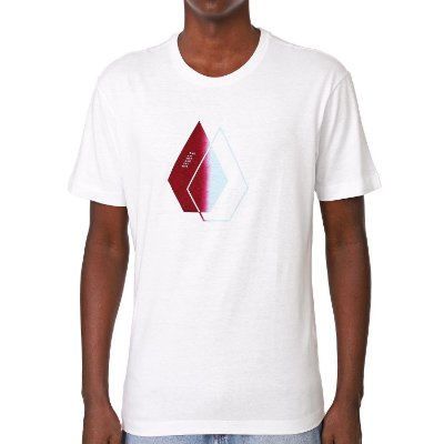 Camiseta Volcom Silk This Close Branca