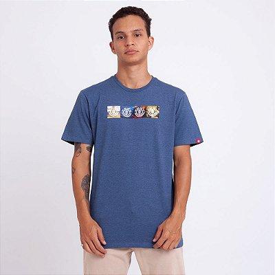 Camiseta Element Horizontal Seasons National Geographic Azul