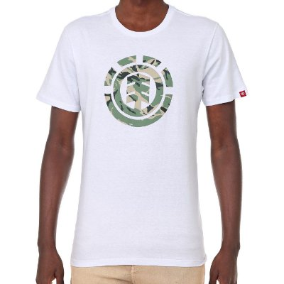 Camiseta Element Foundation Branca