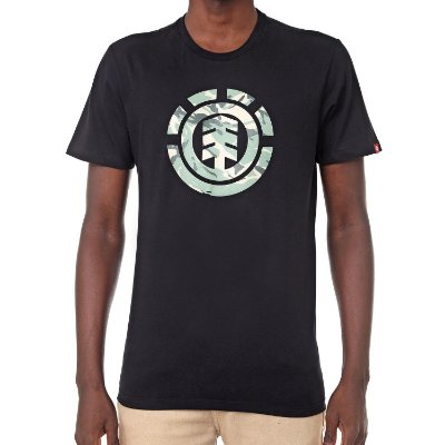 Camiseta Element Foundation Preta