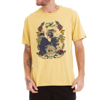 Camiseta Quiksilver Eletric Ocean Amarela