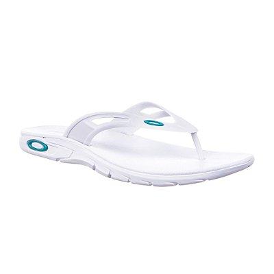 Chinelo Oakley Rest 2.0 Branco