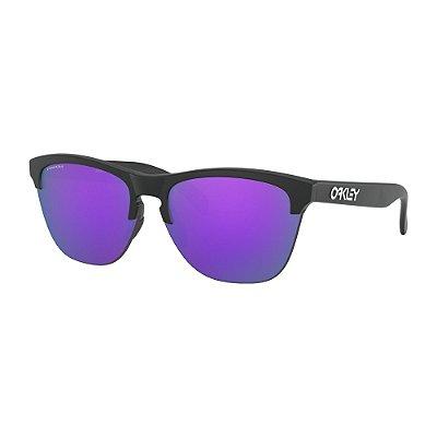 Óculos de Sol Oakley Frogskins Lite Matte Black W/ Prizm Violet