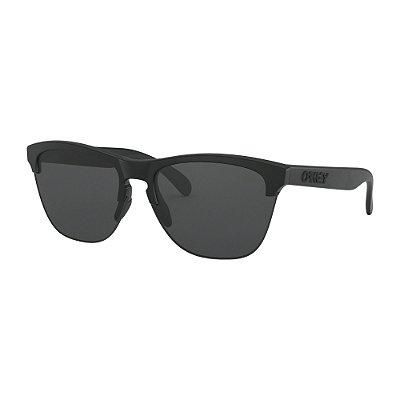 Óculos de Sol Oakley Frogskins Lite Matte Black W/ Grey