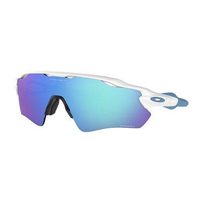Óculos de Sol Oakley Radar EV Path Polished White W/ Prizm Sapphire