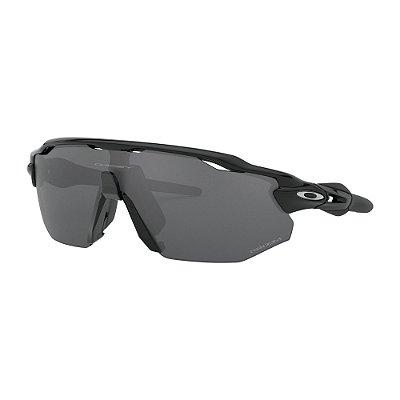 Óculos de Sol Oakley Radar EV Advancer Polished Black W/ Prizm Black Polarized