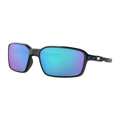 Óculos de Sol Oakley Siphon Polished Black W/ Prizm Sapphire
