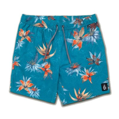 Shorts Volcom Flair Azul