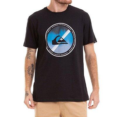 Camiseta Quiksilver Board Color Preto