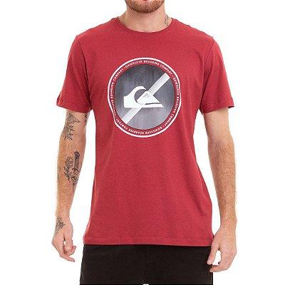 Camiseta Quiksilver Board Color Vermelho
