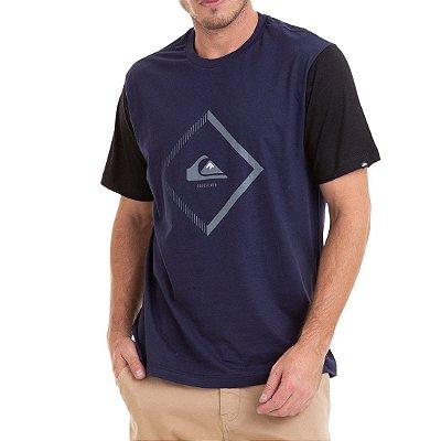 Camiseta Quiksilver Diamond Ton Azul Marinho