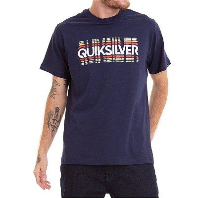 Camiseta Quiksilver Reverb Time Azul Marinho