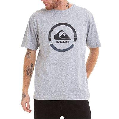 Camiseta Quiksilver Snake Dreams Cinza