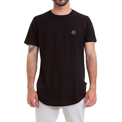 Camiseta Quiksilver Especial Scallop Patch Preto