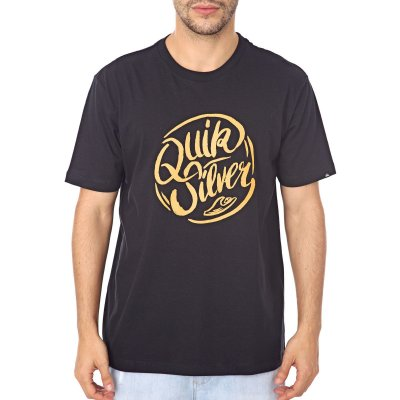 Camiseta Quiksilver Brush Preto