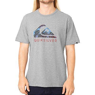 Camiseta Quiksilver Matrix Cinza