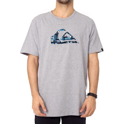 Camiseta Quiksilver Recycled Cinza