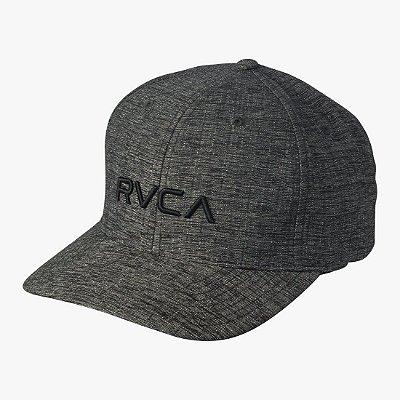Boné RVCA Flex Fit Class C Preto Mescla