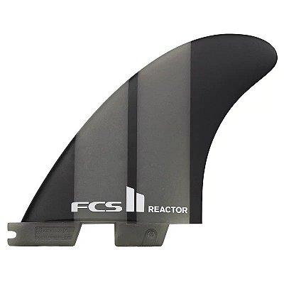 Quilha FCS II Reactor Média Neo Glass Cinza