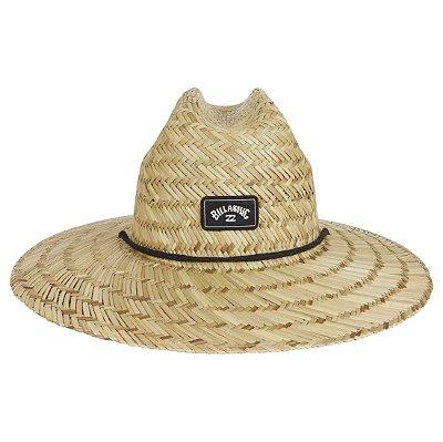 Chapéu de Palha Billabong Tides Lifeguard Marrom Claro