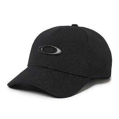 Boné Oakley Tincan Cap Preto/Carbon Fiber