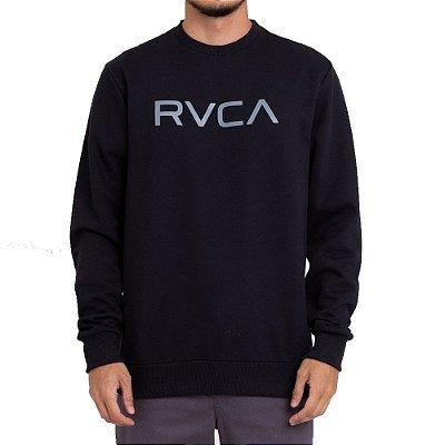 Moletom RVCA Careca Big RVCA Preto