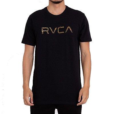 Camiseta RVCA Big RVCA Fera Preto