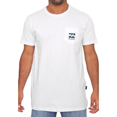 Camiseta Billabong Unity Pocket Branco