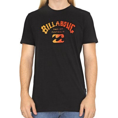 Camiseta Billabong Arch Preto