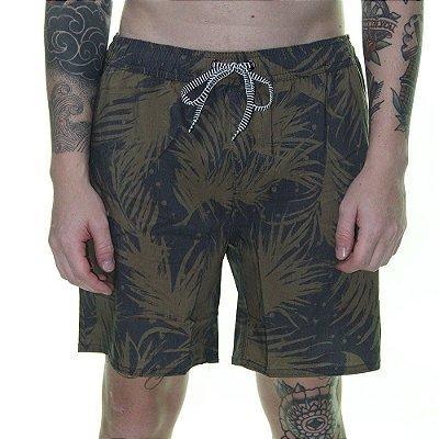 Shorts Volcom Las Palmas Preto/Verde