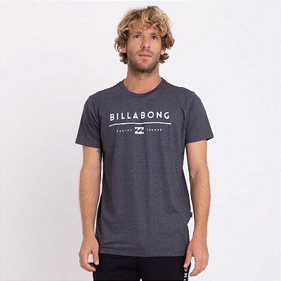 Camiseta Billabong Unity Cinza Escuro Mescla