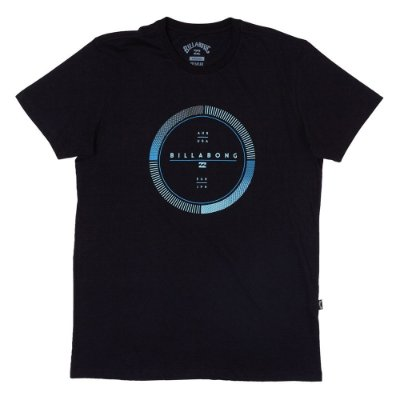 Camiseta Billabong Full Rotator Preto