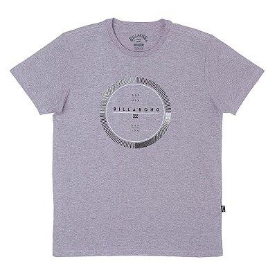 Camiseta Billabong Full Rotator Lilás Mescla