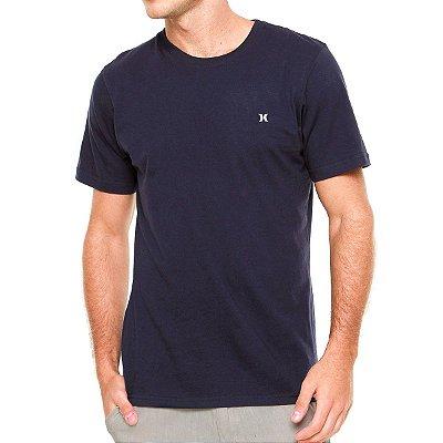 Camiseta Hurley Silk Oversize Icon Big Azul Marinho