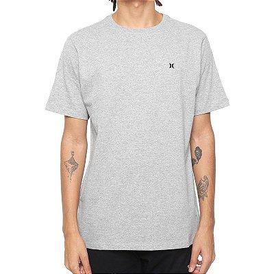 Camiseta Hurley Silk Oversize Icon Big Cinza Mescla